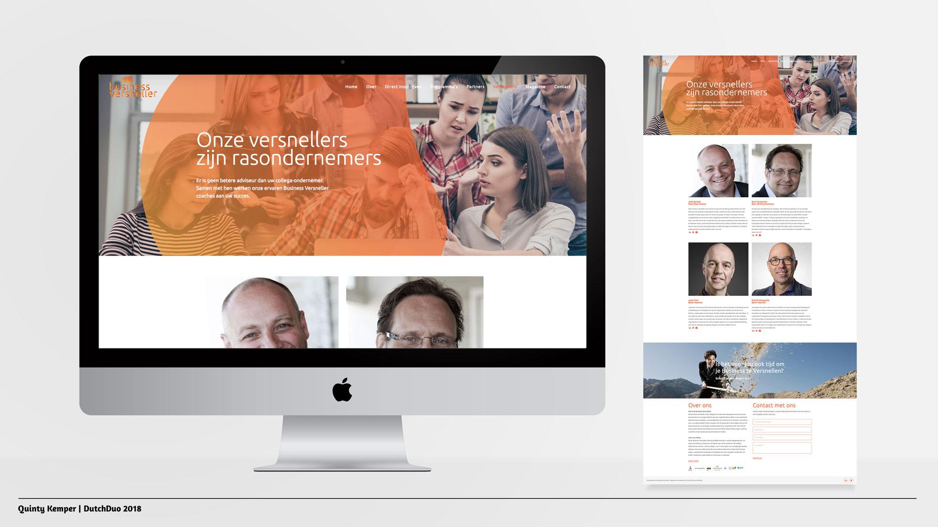 Quinty Kemper Portfolio 2018 Business Versneller web versnellers