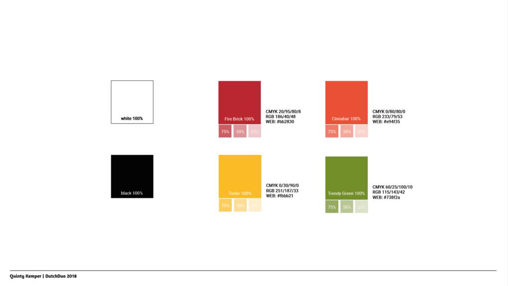Quinty Kemper Portfolio 2018 Kyra logo 1 color palette