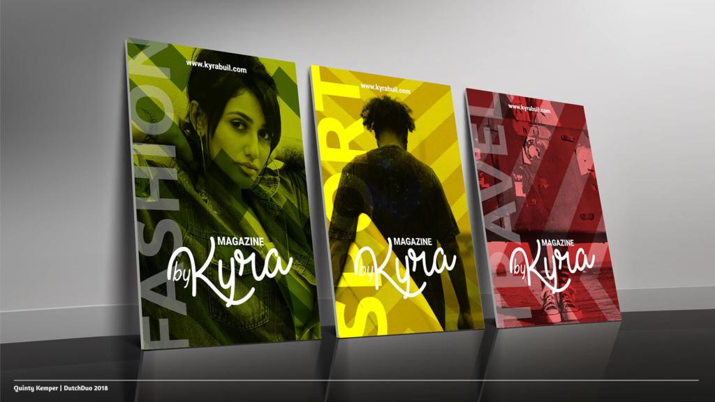 Quinty Kemper Portfolio 2018 Kyra logo 1 posters