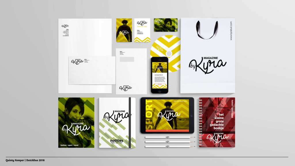 Quinty Kemper Portfolio 2018 Kyra logo 1 visual identity
