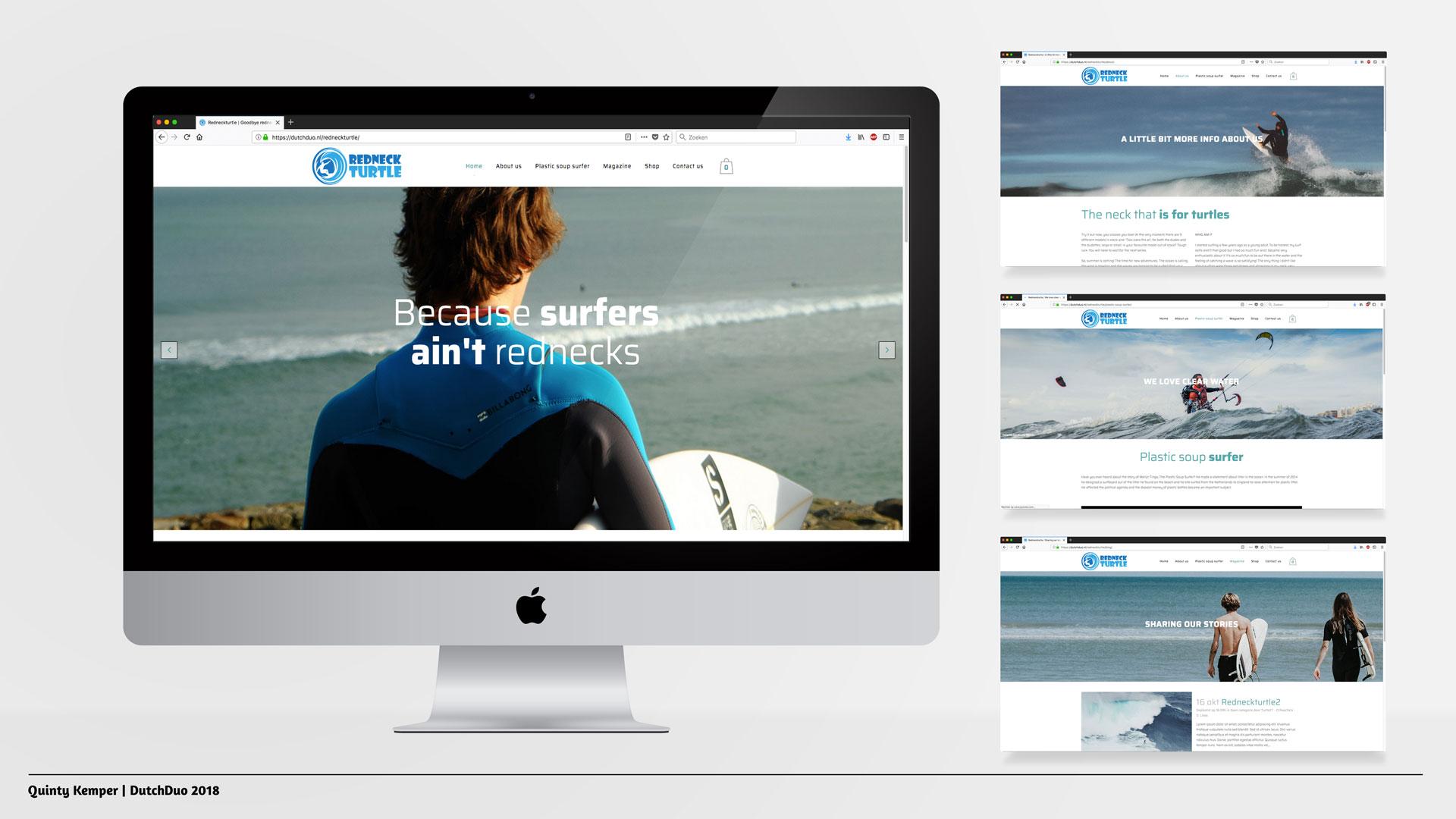 Quinty Kemper Portfolio 2018 RedNeckTurtle web