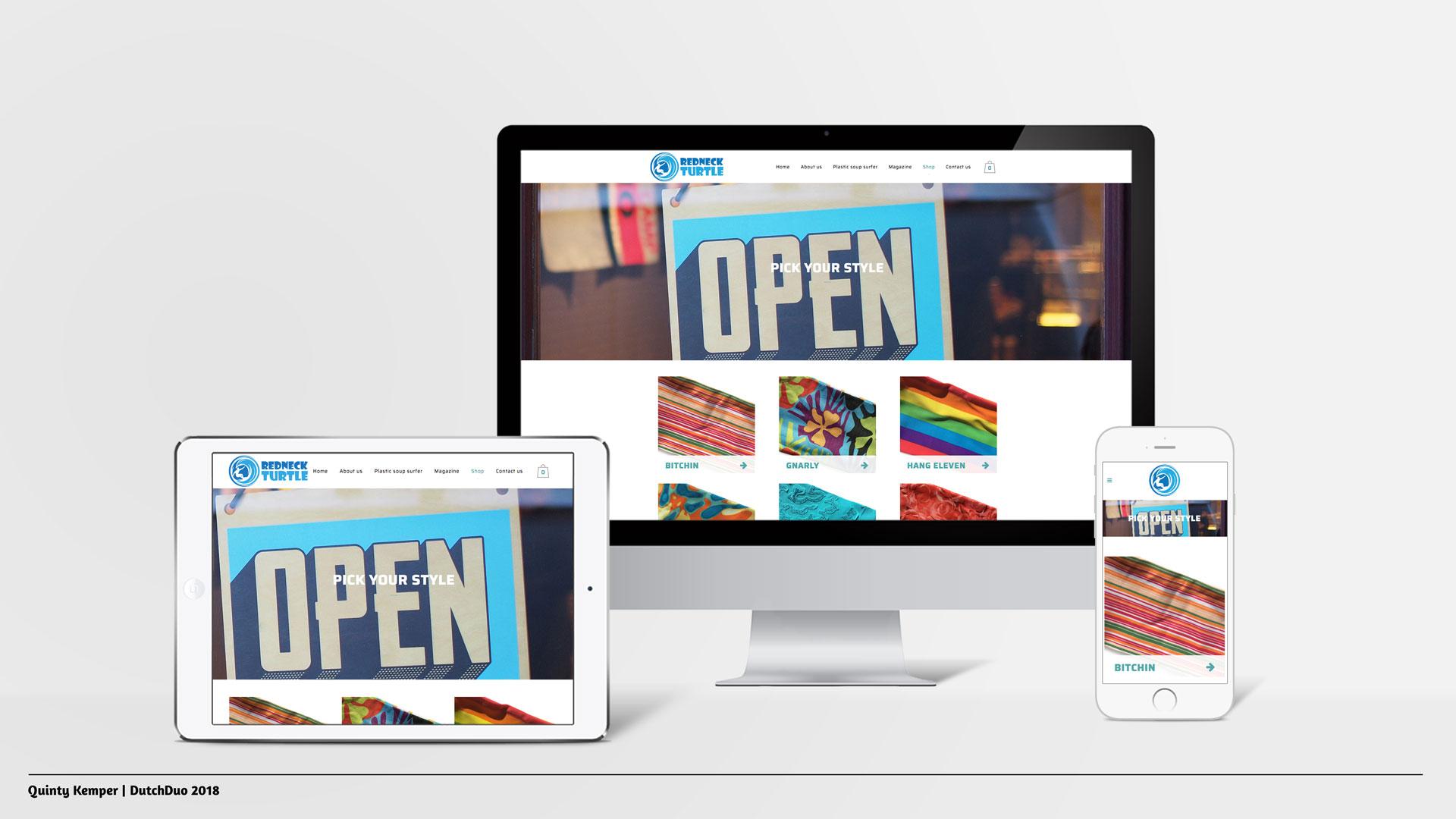 Quinty Kemper Portfolio 2018 RedNeckTurtle webshop