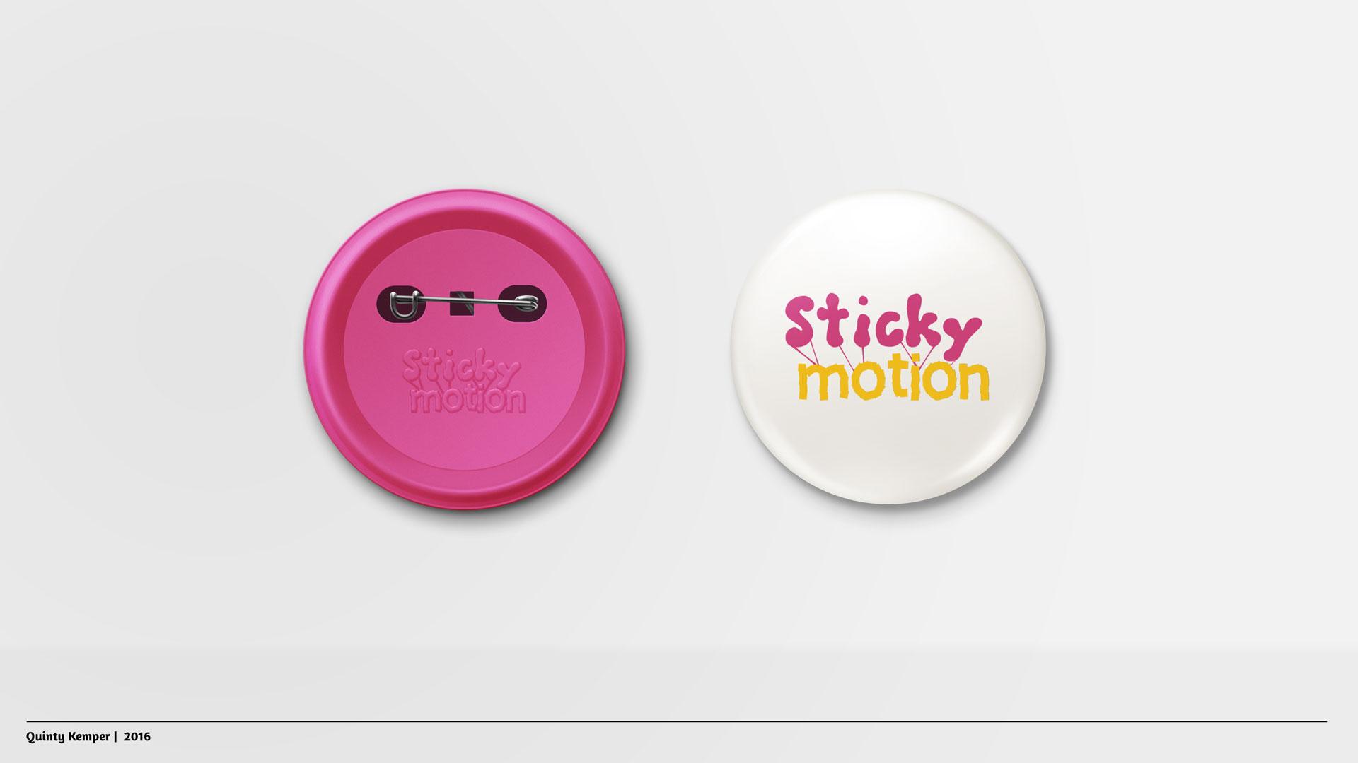 Quinty Kemper Portfolio 2016 Sticky-Motion badge