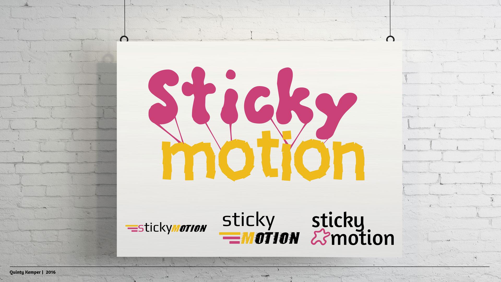 Quinty Kemper Portfolio 2016 Sticky-Motion logo