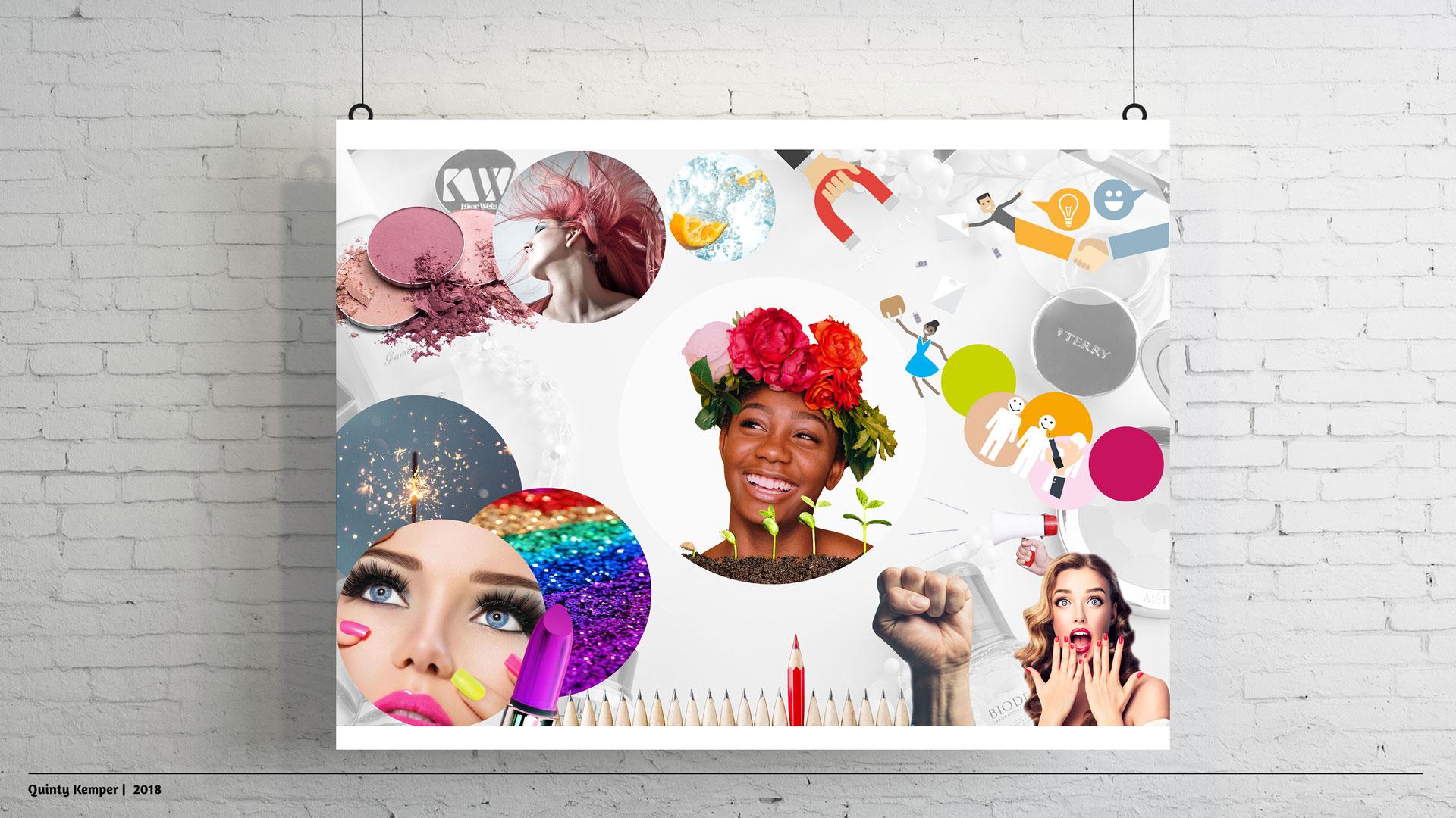 Quinty Kemper Portfolio 2018 Portfolio Emma Wagemans moodboard